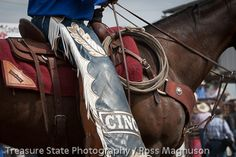 Joe Blankenship and Pard picking up the Miles City Bucking Horse Sale. 2013 (Photo credits go to Ross Magnusson) http://www.treasurestatephotography.com/