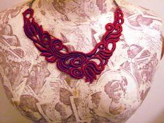 Lace necklace available via http://www.facebook.com/CarolynsWardrobe