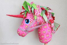 Woooie Hobby Horse/Unicorn sewing pattern review - Cook Clean Craft