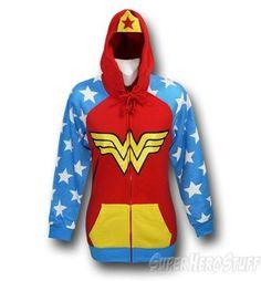 Wonder Woman Womens Women's Costume Hoodie