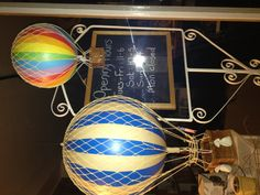 Hot air ballon mobiles