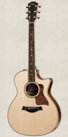 Taylor 814ce Grand Auditorium Cutaway ES2 Acoustic Electric Guitar Natural - for me please!!!
