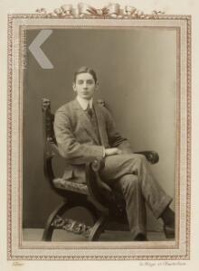 Portret van Hendrik Jan Gevers (1892-1941)