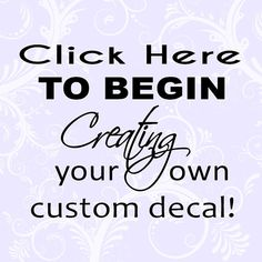 Hey, I found this really awesome Etsy listing at https://www.etsy.com/listing/196769217/custom-wall-decal-quote-art-decor