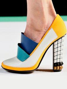 futuristic shoes yet has vintage vibe. :D