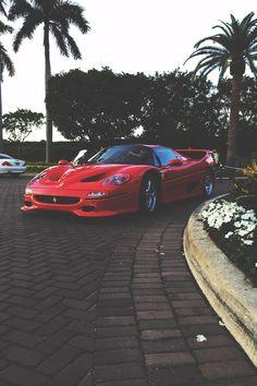 Ferrari F50 Car and cars, auto perfection, high fashion on wheels