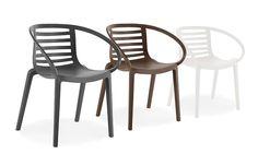 Kunststoffstuhl für Garten, Stuhl aus Polypropylen für den Außenbereich 1713