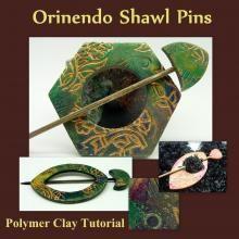 Orinendo Shawl Pins