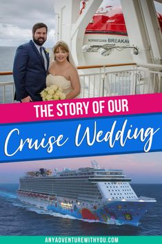 I was standing at the other end of the aisle from the love of my life. My cheeks hurt from smiling because our wedding, was finally here. In this post, I tell the story of our cruise wedding on the Norwegian Breakaway. #DestinationWedding #CruiseWedding  #DestinationWeddingPlanning #DestinationWeddingTips #WeddingPlanning #WeddingTips Packing For A Cruise, Cruise Travel, Cruise Vacation, Vacations, Travel Advice, Travel Guides, Travel Tips, Travel Articles, Best Cruise