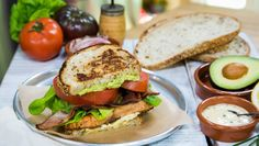 "Celebrate the weekend witrh Chef Andrew Gruel's Pastrami Salmon ""BLT!"" Catch #homeandfamily weekdays at 10/9c on Hallmark Channel!"