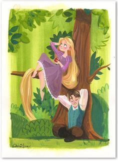 Rapunzel and Flynn | Disney's Tangled