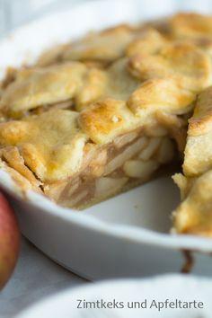 Spiced Apple-Pie - perfekter Kuchen für die Adventszeit - Zimtkeks und Apfeltarte
