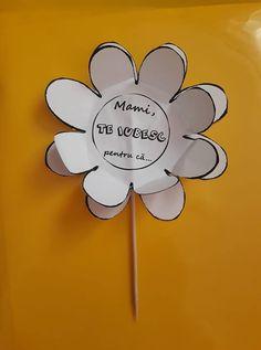 O floare pentru mama. Felicitare, tablou, obiect de decor 8 Martie, Joker, The Joker, Jokers, Comedians