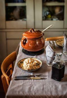 Receta 847: Gallina en pepitoria » 1080 Fotos de cocina