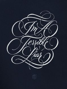 """I'm a terrible liar"", Ryan Hamrick // Gorgeous hand type!"