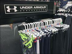 Under Armour T-Hook Faceout for Men – Fixtures Close Up Central Logo, Hooks, Under Armour, Retail, Shape, Men, Color, Black, Colour