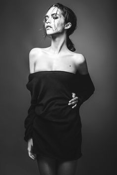 Model test / Alina by Tanya Timal, via Behance