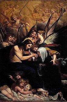 "St. Catherine of Siena -""St Catherine's mystic communion"" by Francesco Brizzi"