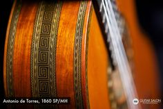 Guitar Salon International: 1860 Antonio de Torres SP/MH