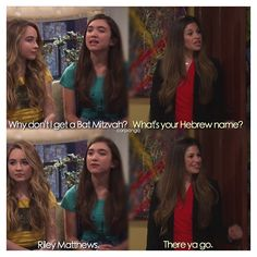 "#GirlMeetsWorld 1x21 ""Girl Meets Demolition"" - Topanga, Riley and Maya"