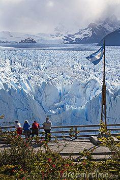Glaciar de Perito Moreno - Patagonia - la Argentina Imagen editorial