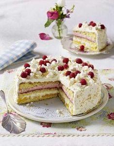 Kokos-Sahne-Torte (Leserrezept)