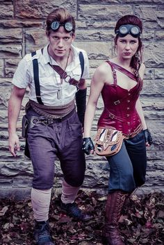 SteamPunk by Marc C Photography. I like when Steampunk meets practical fashion Steampunk Men, Steampunk Corset, Steampunk Cosplay, Victorian Steampunk, Steampunk Clothing, Steampunk Fashion, Steampunk Theme, Gothic, Diesel Punk