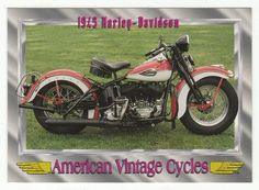 American Vintage Cycles Series I # 28 1945 Harley-Davidson - Champ 1992