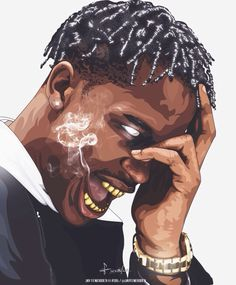 #Travis #Scott #Art #Trill #Black #Blvck