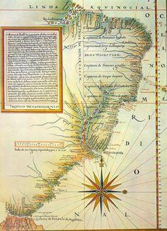 Brazil, 1574 tratado-tordesilhas