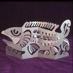 Amazing fish sculpture -- Don Drumm