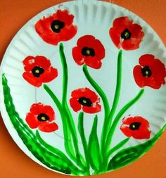 Mother's Day Picture Flower Pot Bouquet Click Pic for 20 DIY Mothers Day Craft Ideas for Kids to Make Diy Mother's Day Crafts, Mother's Day Diy, Mothers Day Crafts, Arts And Crafts, Poppy Craft For Kids, Crafts For Kids To Make, Art For Kids, Remembrance Day Activities, Remembrance Day Poppy
