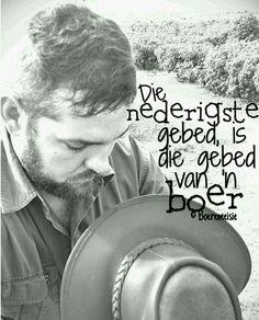 Gebed van 'n Boer...