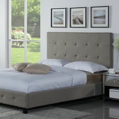 Casey Upholstered Platform Bed