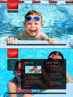 Cachalot Swim Silverlight Templates by Di