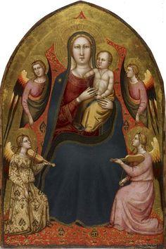 Lorenzo di Bicci - Madonna col Bambino e angeli - 1405-1410 - Fine Arts Museums, San Francisco