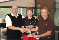 Dave Rogers and I won the Phyldon Trophy 2011, a mixed pairs competition at Foxhills