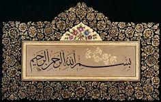 oklu besmele — Yandex.Görsel – Besmelenin Önemi. Persian Calligraphy, Arabic Calligraphy Art, Arabic Art, Islamic Motifs, Islamic Patterns, Istanbul, Islamic Wall Decor, Ottoman, Allah Wallpaper
