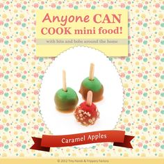 Get crafty and learn how to make miniature polymer clay caramel apples! This FREE PDF tutorial shows you step-by-step instructions with super clear photos!