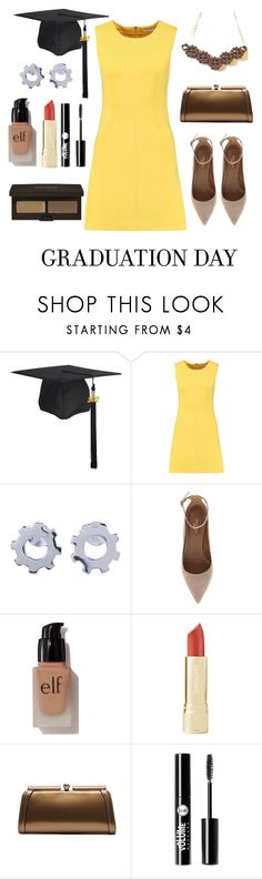 """""""An Engineering Graduation"""" by sci-chic ❤ liked on Polyvore featuring Diane Von Furstenberg, NOVICA, Aquazzura, e.l.f., MKF Collection, Charlotte Russe, Laura Mercier, ootd, geekchic and girlpower"""