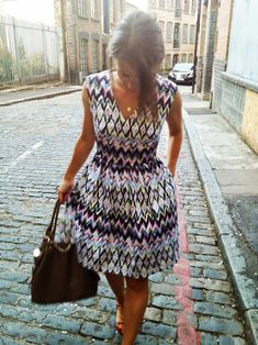 honigdesign: SUMMER and the City free dress pattern