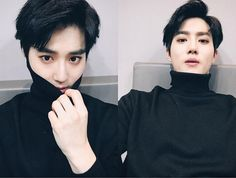 """161008 Official EXO-L website update❤️ - Translation: """"Work hard in life in preparement for our latter years."""" _"""