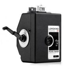 Lomography LomoKino 35mm Film Camera with LomoKinoscope