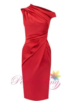 2014 New red mother of the bride dresses knee-length dress mother bride plus size knee length mothers of the bride wedding Dresse custom on Etsy, $89.00