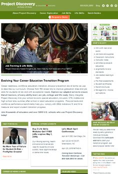 www.iloveprojectdiscovery com Career Education and Transition Curriculum - Special Education and Vocation Skills Program