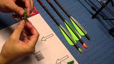 diy How to Make your own A Lighted Arrow Nock archery short tips youtube video in 5 mins