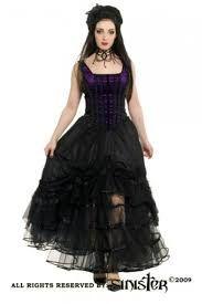 """Résultat de recherche d'images pour """"robe victorienne noir longue"""""""