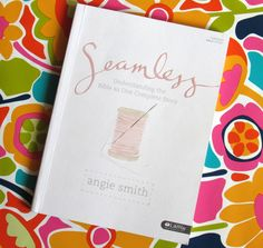 Review - Seamless Bible study is for everyone - new and long-time Christians #seamless #seamlessbiblestudy #christianbookreview