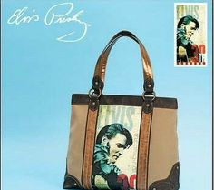 Elvis Presley 30 Anniversary Tote Bag Great Christmas Gift