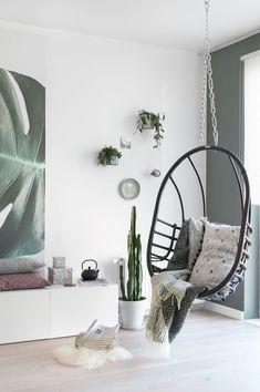 4 tips to bring spring into your home Room Interior Design, Home Interior, Scandinavian Interior, Home Living Room, Living Room Decor, Room Inspiration, Interior Inspiration, Scandi Living, Transitional Decor